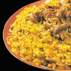 Uzbek Lamb Plov Pilaf recipe