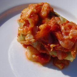 Stuffed Cabbage Busted recipe