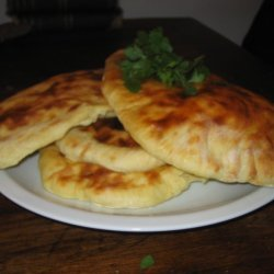 Home Baked Garlic Naan Bread recipe