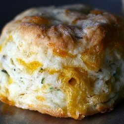 Spicy Bacon Cheese And Chive Biscuits recipe