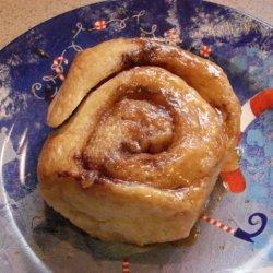 Cinnamon Rolls With Vanilla Ice Cream recipe
