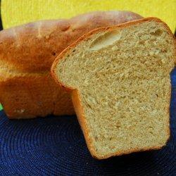 Oatmeal - Molasses Sandwich Bread recipe