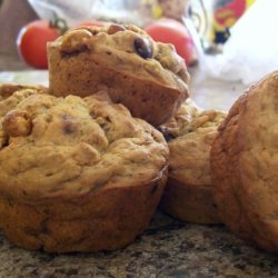 Choco - Banana Crunch Muffins recipe