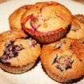 Gluten Free Dairy Free Natural Mixed Berry Muffins recipe