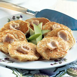 Apple Pancakes with Cinnamon Butter recipe