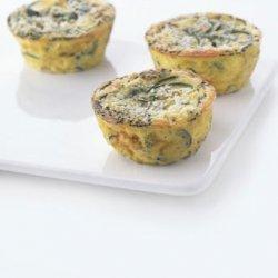 Individual Zucchini Frittatas with Pecorino and Chives recipe