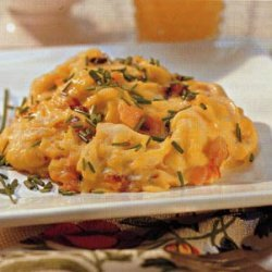 Scrambled Eggs with Smoked Salmon and Chives recipe