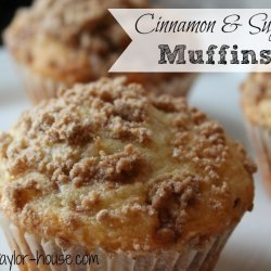 Cinnamon Sugar Muffins recipe