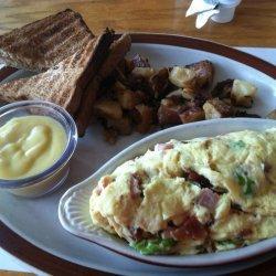 Cream Cheese and Chive Scrambled Eggs recipe