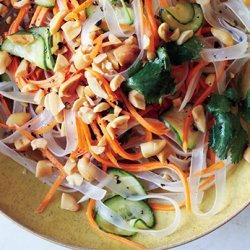 Bean Thread Noodles with Pickled Vegetables recipe