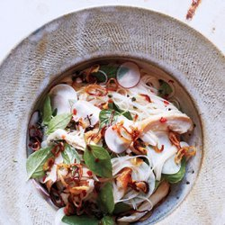 Rice Vermicelli with Chicken and Nuoc Cham recipe