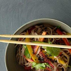 Cold Sesame Noodles with Summer Vegetables recipe