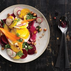 Shaved Root Vegetable Salad recipe