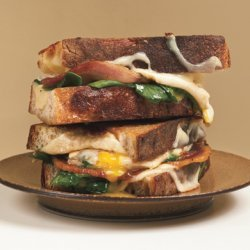 Grilled Cheese and Fried Egg Sandwiches recipe
