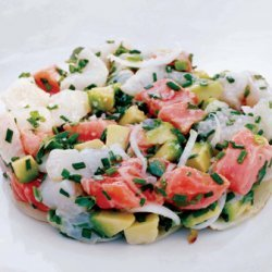 Lobster Salad with Green Beans, Apple, and Avocado recipe