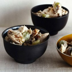 Chicken Salad with Grapes and Walnuts recipe