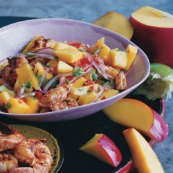 Shrimp and Mango Salad recipe