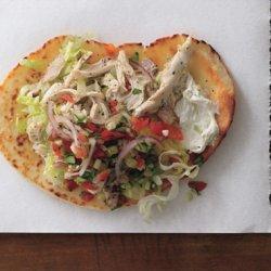 Chicken Gyros with Cucumber Salsa and Tsatsiki recipe