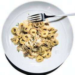 Tortellini  with Porcini Mushroom Sauce recipe
