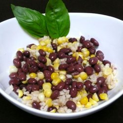 Black Bean and Rice Salad recipe