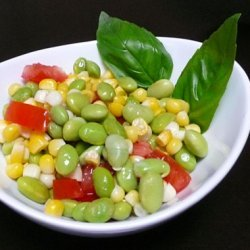 Edamame Succotash Salad recipe