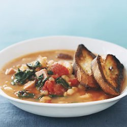 Fast White-Bean Stew recipe