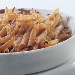 Penne with Parmesan Cream and Prosciutto recipe
