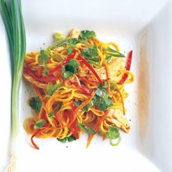Spicy Asian Noodle and Chicken Salad recipe