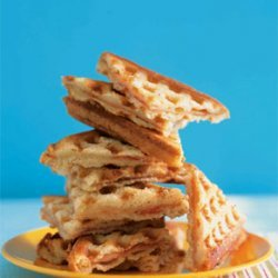Waffled Ham and Cheese Sandwiches recipe