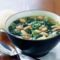 Escarole and White Bean Soup recipe