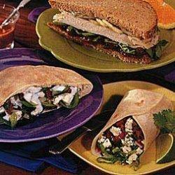 Smoked Turkey Sandwiches with Orange Cranberry Sauce recipe