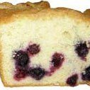 Blueberry Pound Cake Muffins recipe