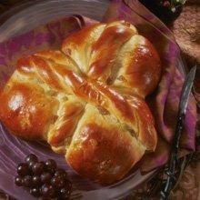 Greek Trinity Bread recipe