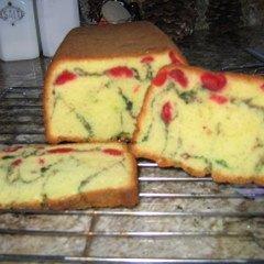 Easy Pistachio Bread With Maraschino Cherries recipe