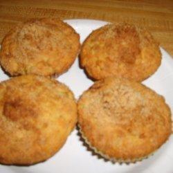 Crumb Topped Banana Muffins recipe