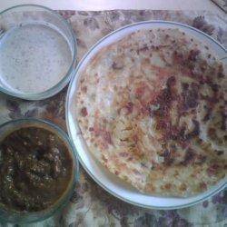 Stuffed Paratha Bread recipe