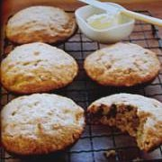 Super Moist Banana Nut Muffin Tops recipe
