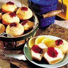 Strawberry Jam Muffins recipe