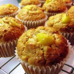 Pineapple Banana Muffins recipe
