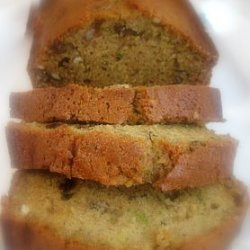 Low Fat Banana Zucchini Bread recipe