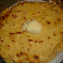 Makki Ki Roti (punjabi Corn Bread) recipe