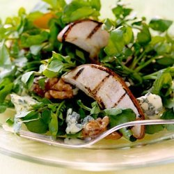Grilled Pear And Watercress Salad recipe