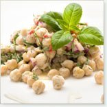 Zesty Chick Pea Salad recipe