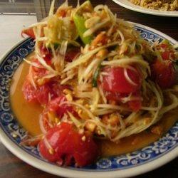 Tsom Tam Thai Papaya Salad recipe