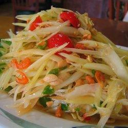 Papaya Salad Thai Style recipe