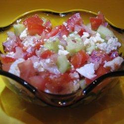 Greek Veggie Salad recipe