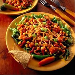 Chili And Corn Pasta Salad recipe