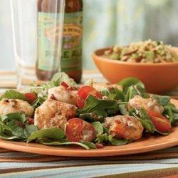 Shrimp Bacon And Arugula Salad recipe