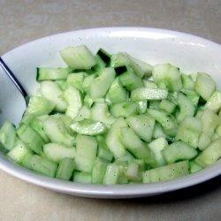 Cucumber Lime Salad recipe