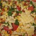Fresh Corn Salad With Honey Lime Dressing recipe